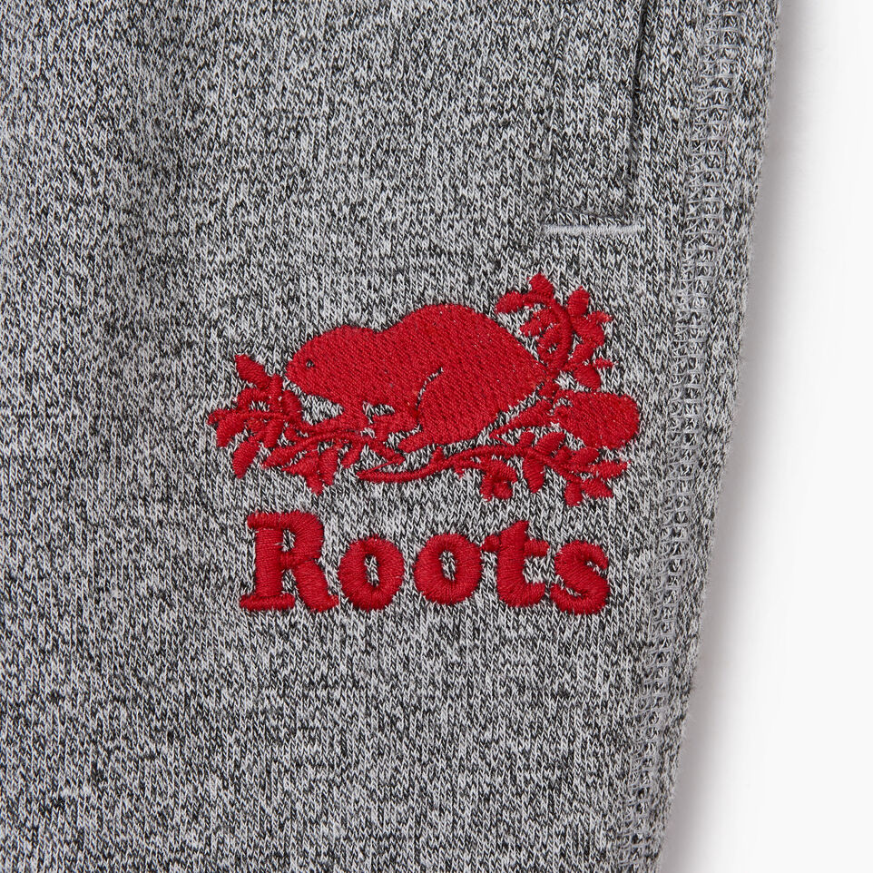 Roots-Kids Toddler Girls-Toddler Roots Cabin Cozy Sweatpant-Salt & Pepper-C