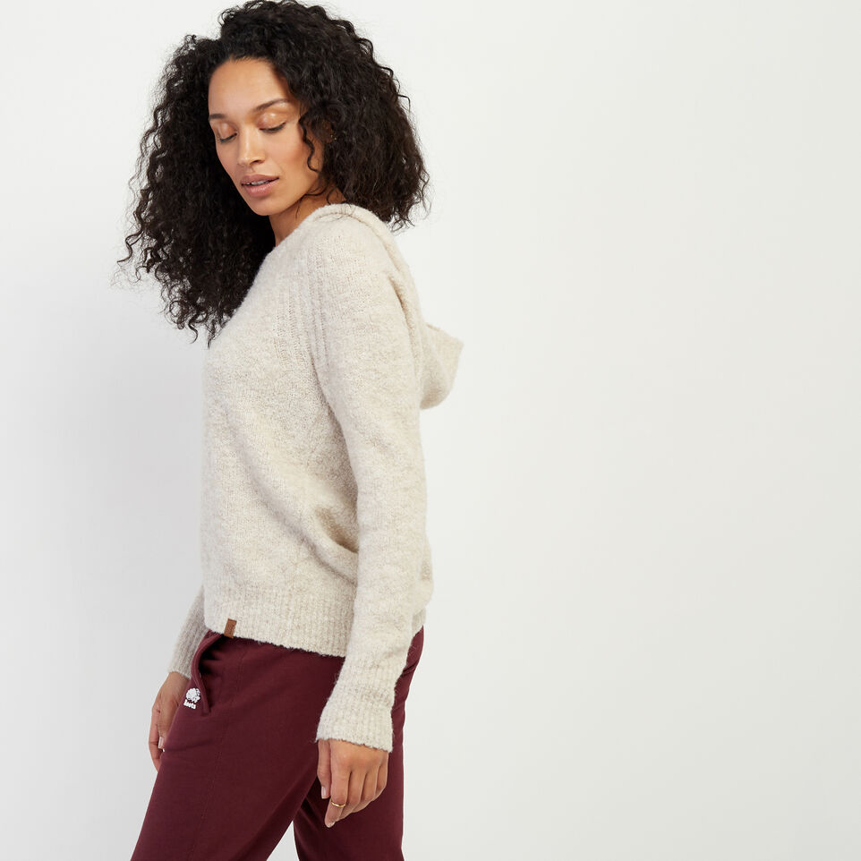 Roots-Women Sweaters & Cardigans-Beach Comber Sweater Hoody-Wind Chime Mix-C