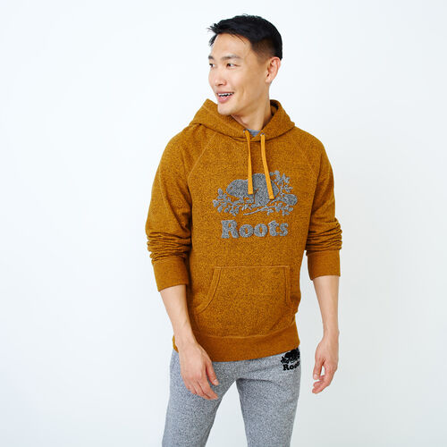 Roots-Men Our Favourite New Arrivals-Chenille Kanga Hoody-Buckthorn Pepper-A