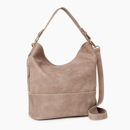 Roots-Leather  Handcrafted By Us Our Favourite New Arrivals-West End Hobo-Fawn-A