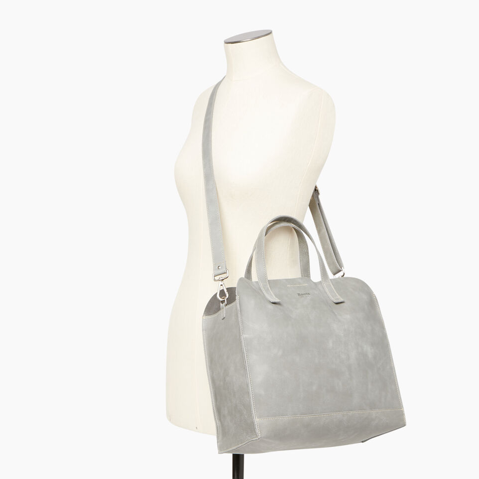 Roots-Leather Our Favourite New Arrivals-Junction Tote-Quartz-B
