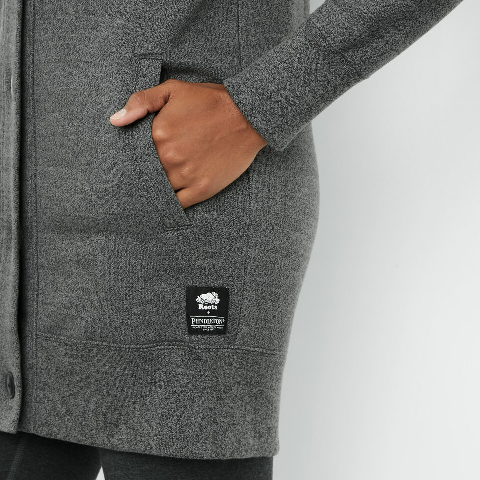 Roots-undefined-Cardigan Roots X Pendelton-undefined-E