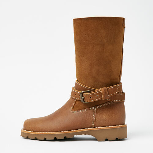 Roots-Footwear Boots-Western Sheepskin Boot Tribe-Natural-A