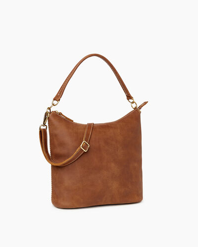 Roots-Leather Bestsellers-Ella Bag-Natural-A
