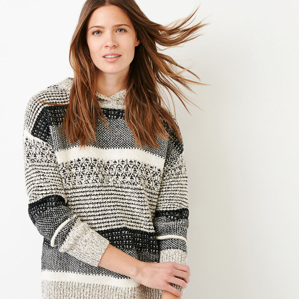 Roots-Women Our Favourite New Arrivals-Ingram Hoody Sweater-Black Mix-A