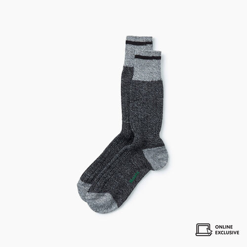 Roots-Gifts Lounge-Mens Roots Pop Cabin Sock 3 Pack-Black Mix-A