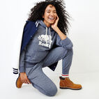 Roots-Women Categories-Original Kanga Hoody-Navy Blazer Pepper-B
