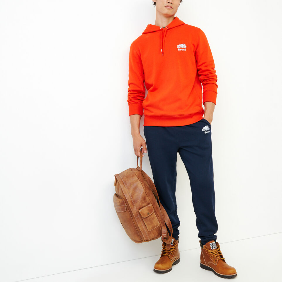Roots-Men Our Favourite New Arrivals-Roots Breathe Hoody-Spicy Orange-B