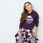 Roots-Kids Our Favourite New Arrivals-Girls Laurel Hoody-Blackberry Mix-A