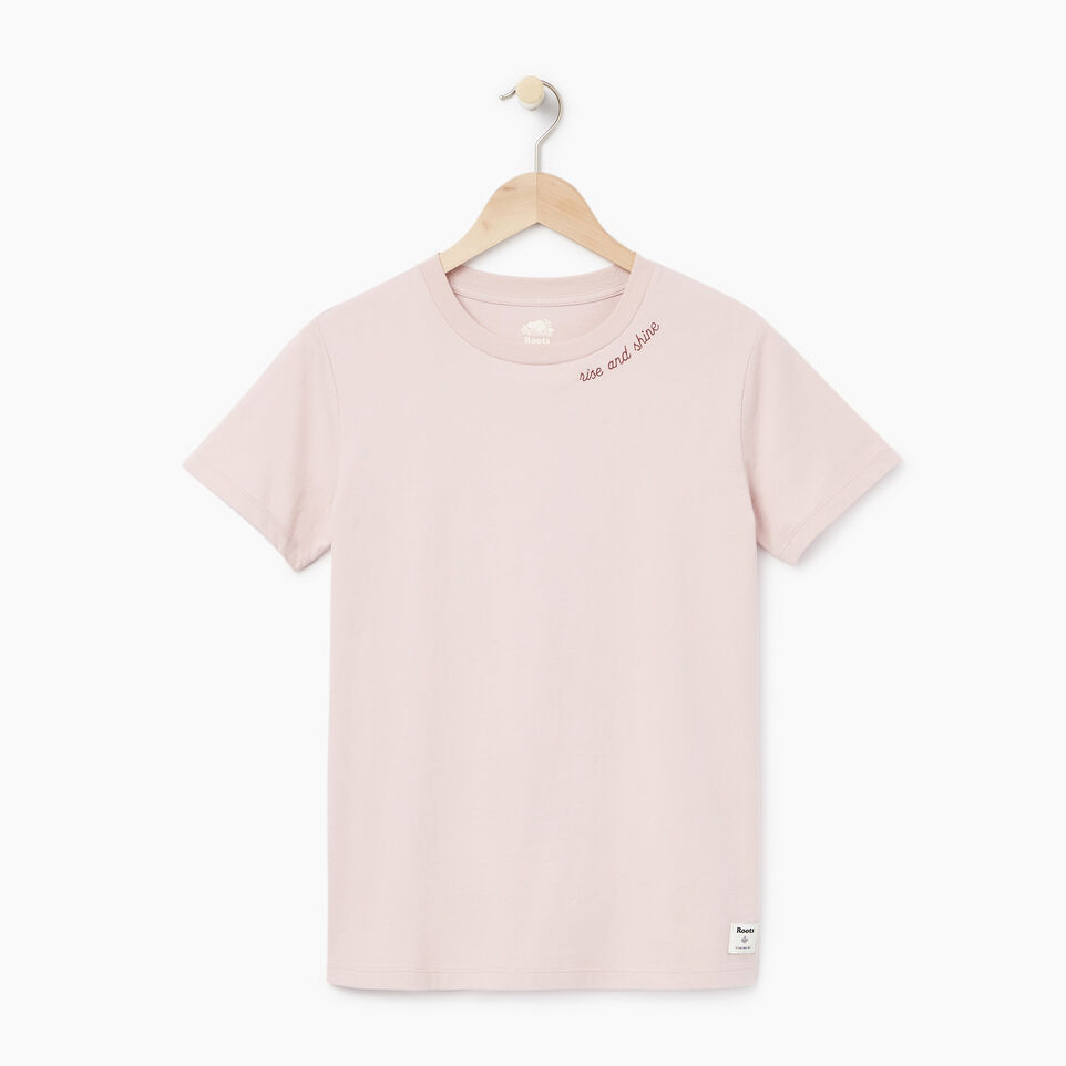 Roots-New For March Daily Offer-Womens Communication T-shirt-Burnished Lilac-A