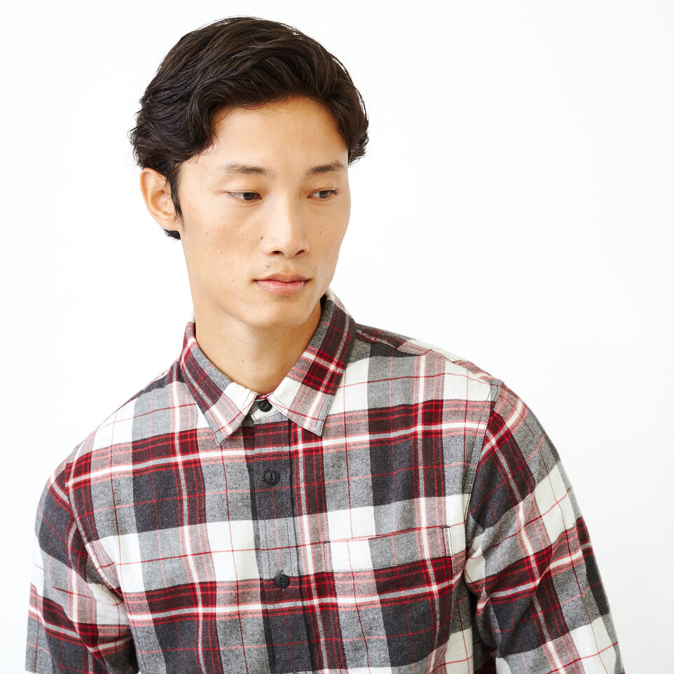 Roots-undefined-Rivers Flannel Shirt-undefined-E