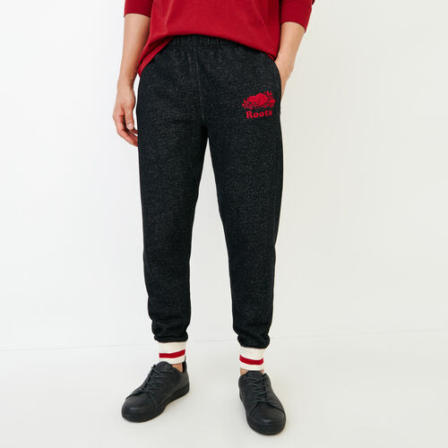 Roots-Men Our Favourite New Arrivals-Cabin Slim Sweatpant-Black Pepper-A