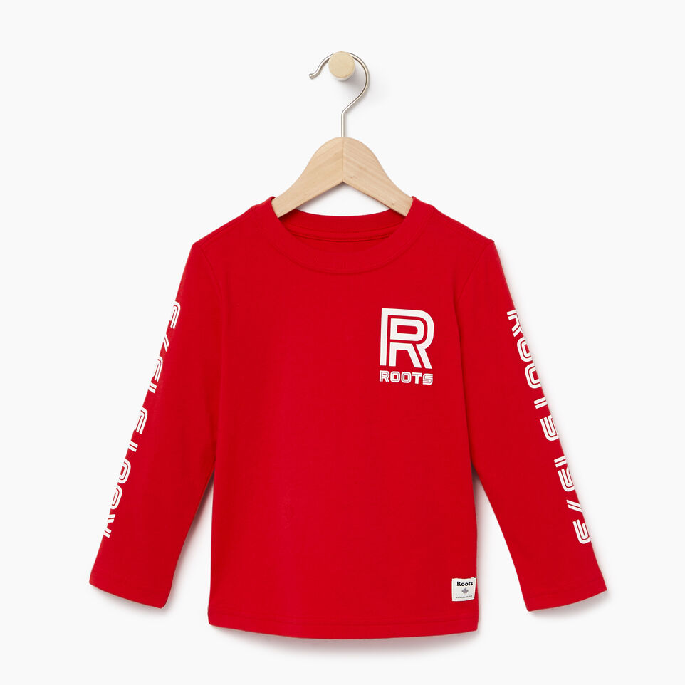 Roots-Kids Our Favourite New Arrivals-Toddler Sportsmas Multi T-shirt-Racing Red-A