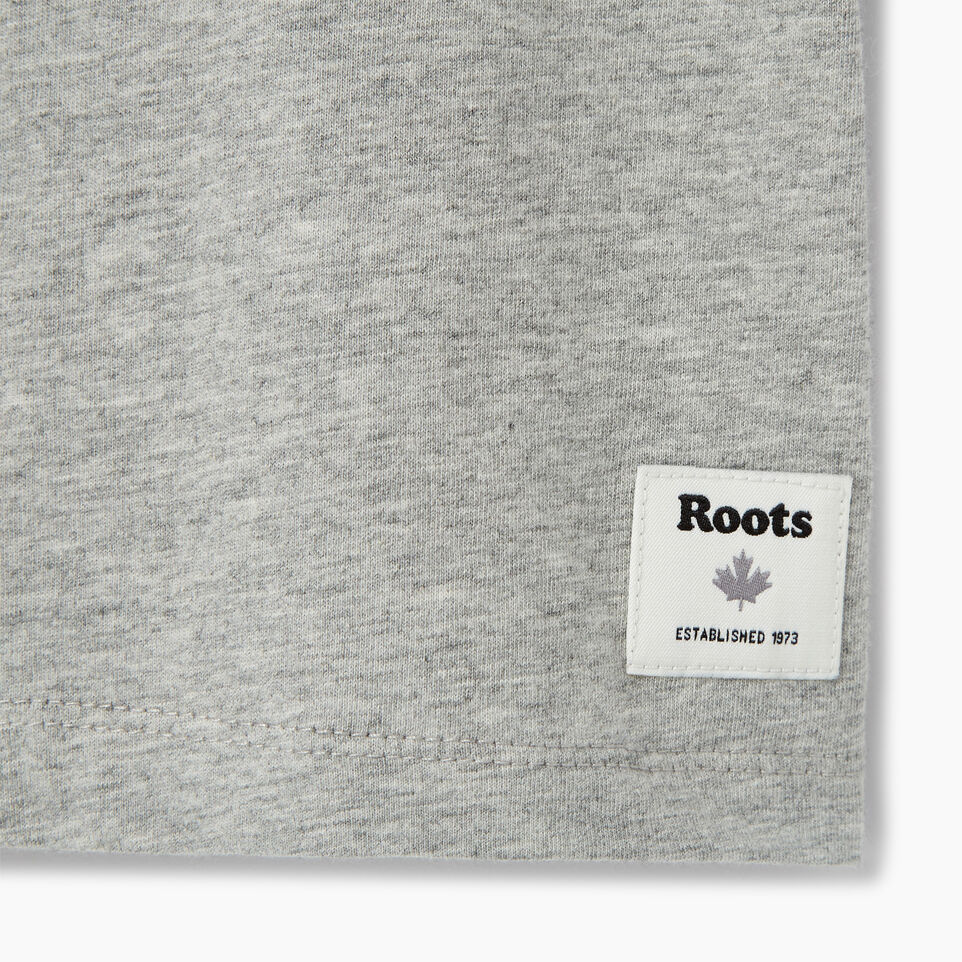 Roots-Clearance Kids-Girls Roots Outdoors T-shirt-Grey Mix-C