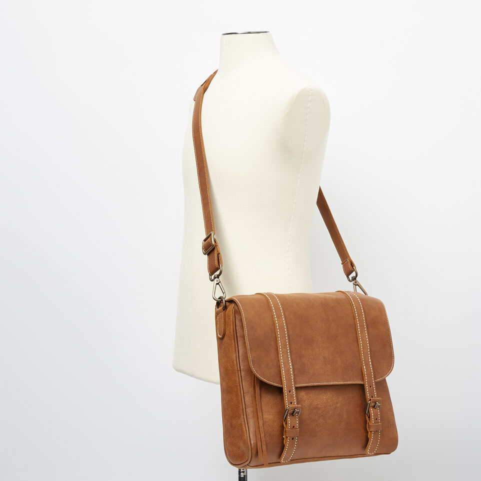 Roots-Leather Our Favourite New Arrivals-Modern Satchel Tribe-Natural-B