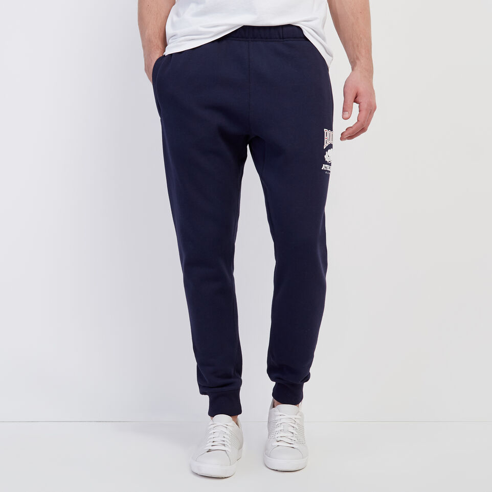 Roots-New For March Rba Collection-RBA Park Slim Sweatpant-Navy Blazer-A