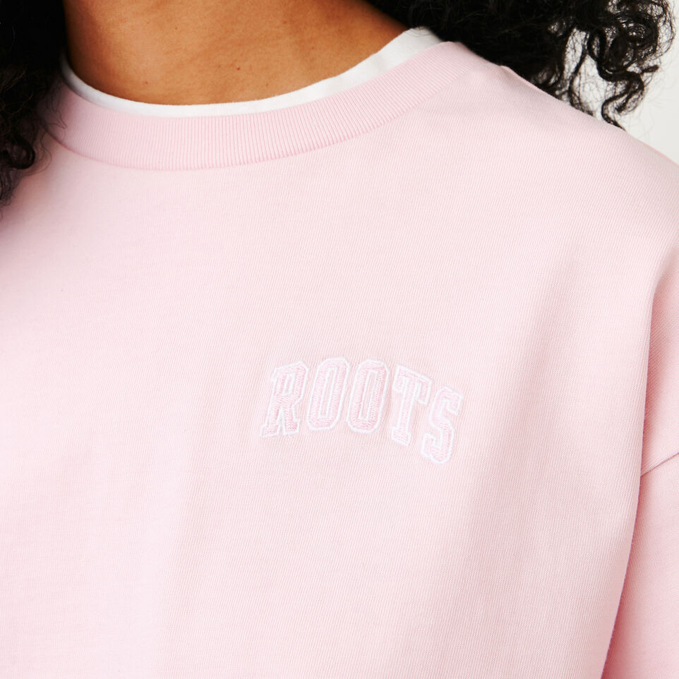 Roots-Women Our Favourite New Arrivals-Brookley Top-Pink Mist-E