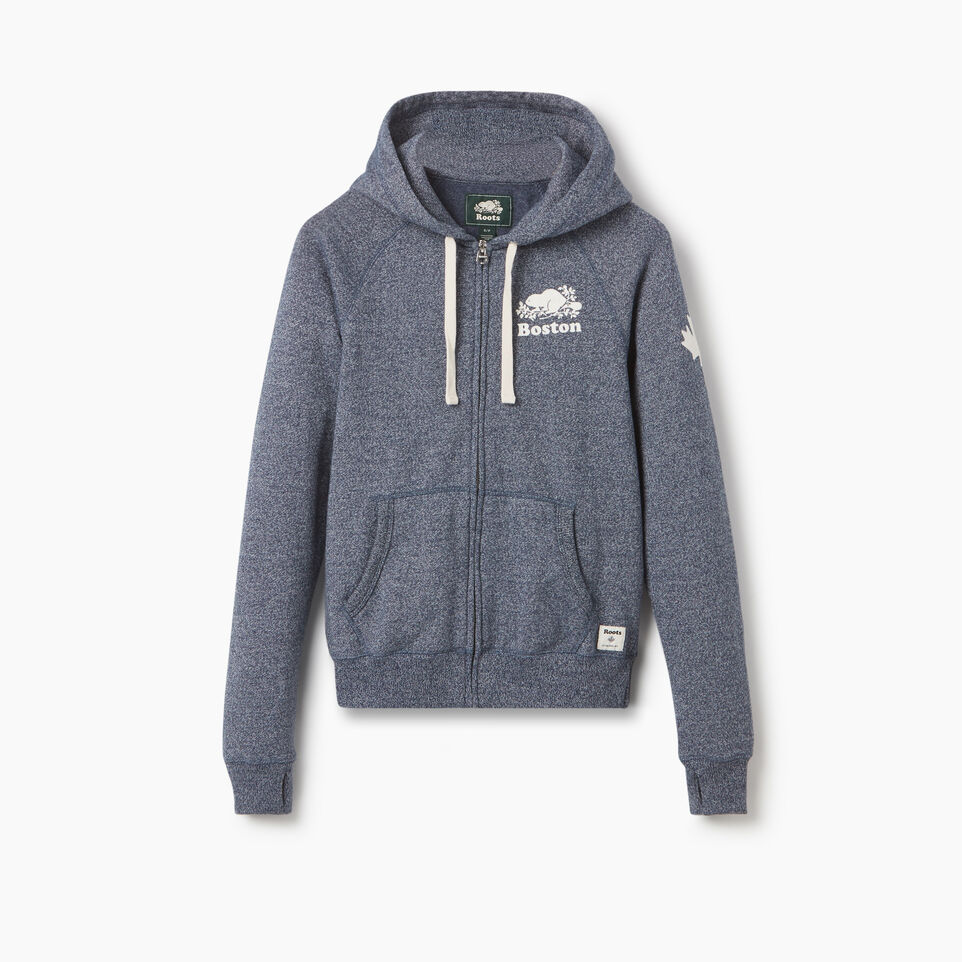 Roots-undefined-Boston Full Zip Hoody - Womens-undefined-A