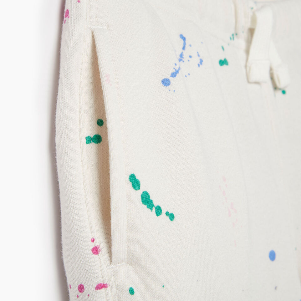 Roots-Kids Our Favourite New Arrivals-Girls Splatter Sweatpant-Cannoli Cream-E