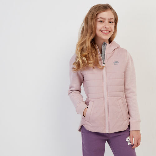 Roots-Kids Bestsellers-Girls Journey Hybrid Jacket-Burnished Lilac-A