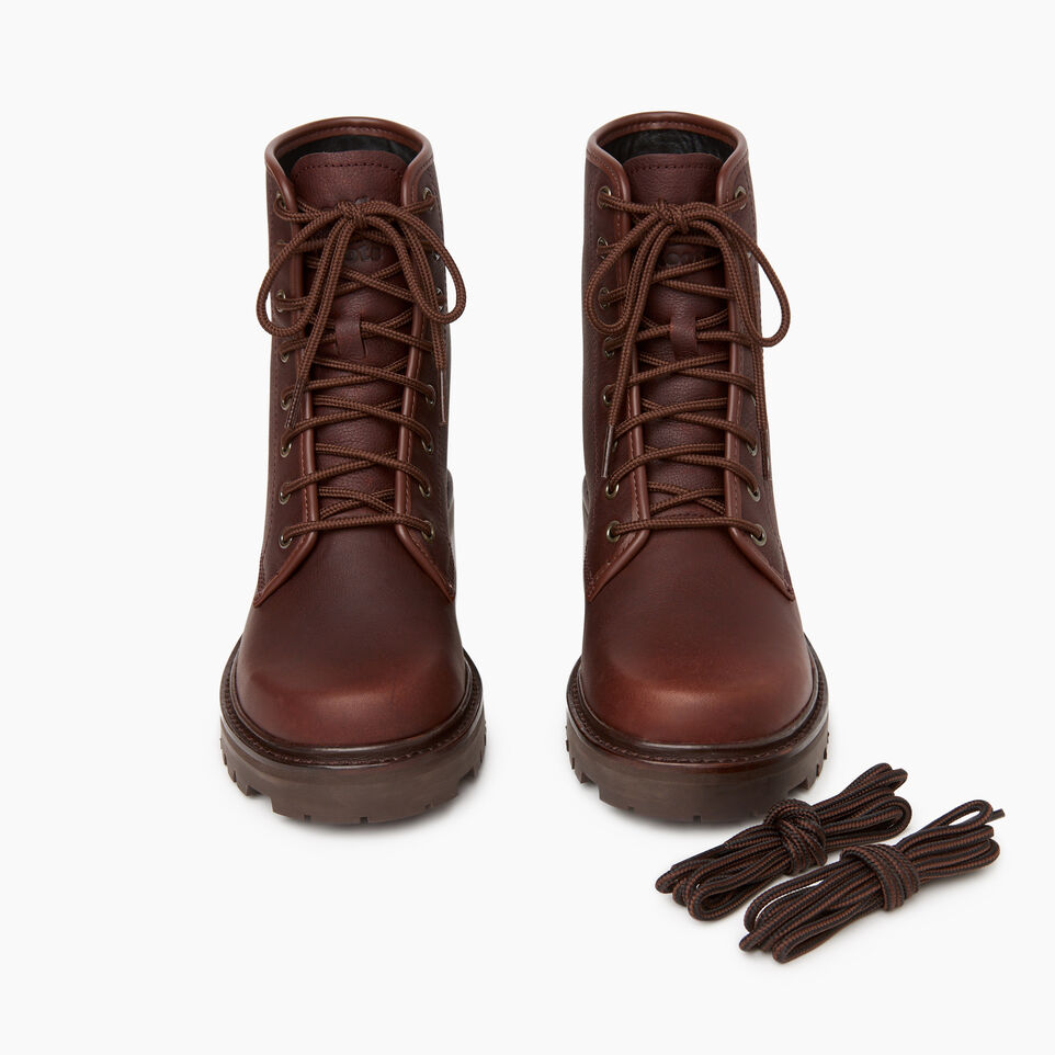 Roots-Women Clothing-Womens Port Dalhousie Boot-Cocoa-D