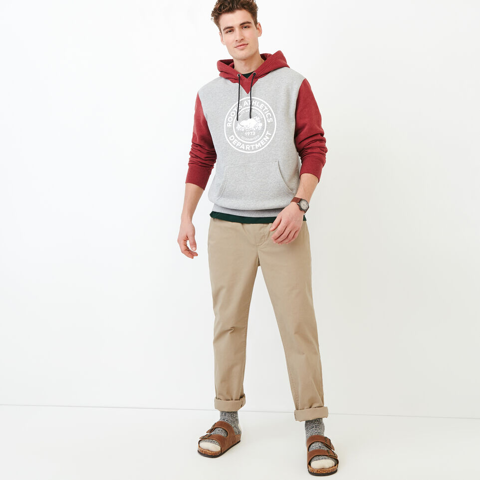 Roots-Men Our Favourite New Arrivals-Athletic Dept. Hoody-Grey Mix-B