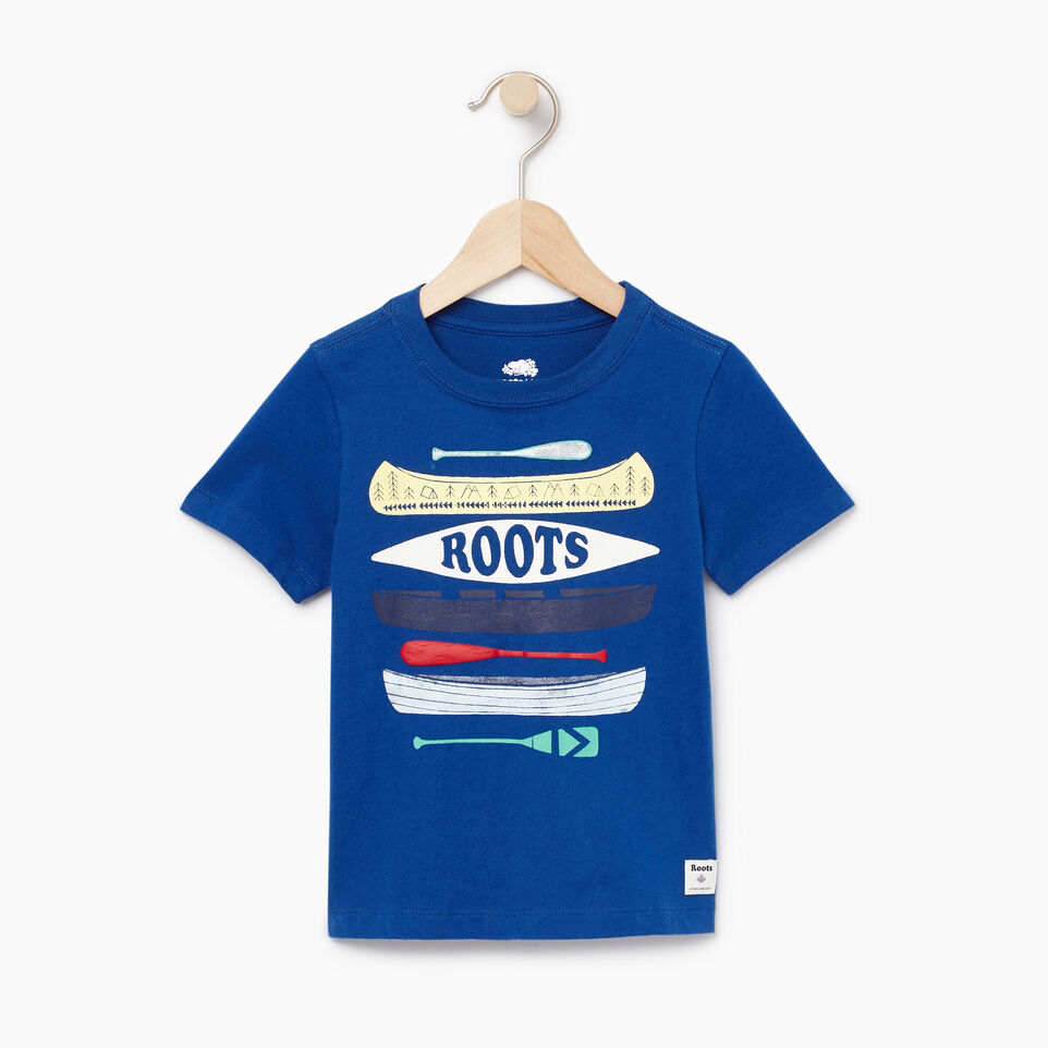 Roots-Kids Our Favourite New Arrivals-Toddler Aop Glow In The Dark T-shirt-Active Blue-A