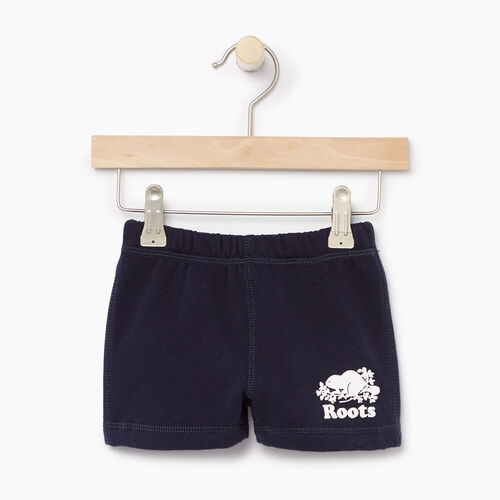 Roots-Kids Our Favourite New Arrivals-Baby Original Short-Navy Blazer-A