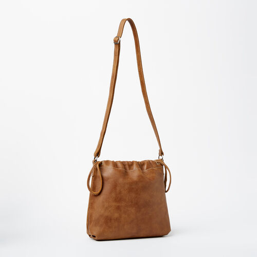 Roots-Winter Sale Leather-Mini Drawstring Bag Tribe-Natural-A