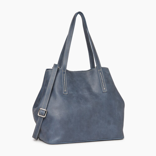 Roots-Leather Totes-Amelia Tote-Navy-A