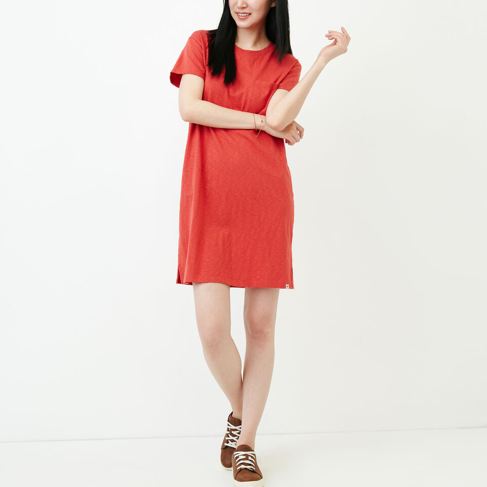 Roots-Women Our Favourite New Arrivals-Madeira Pocket Dress-Baked Apple-A