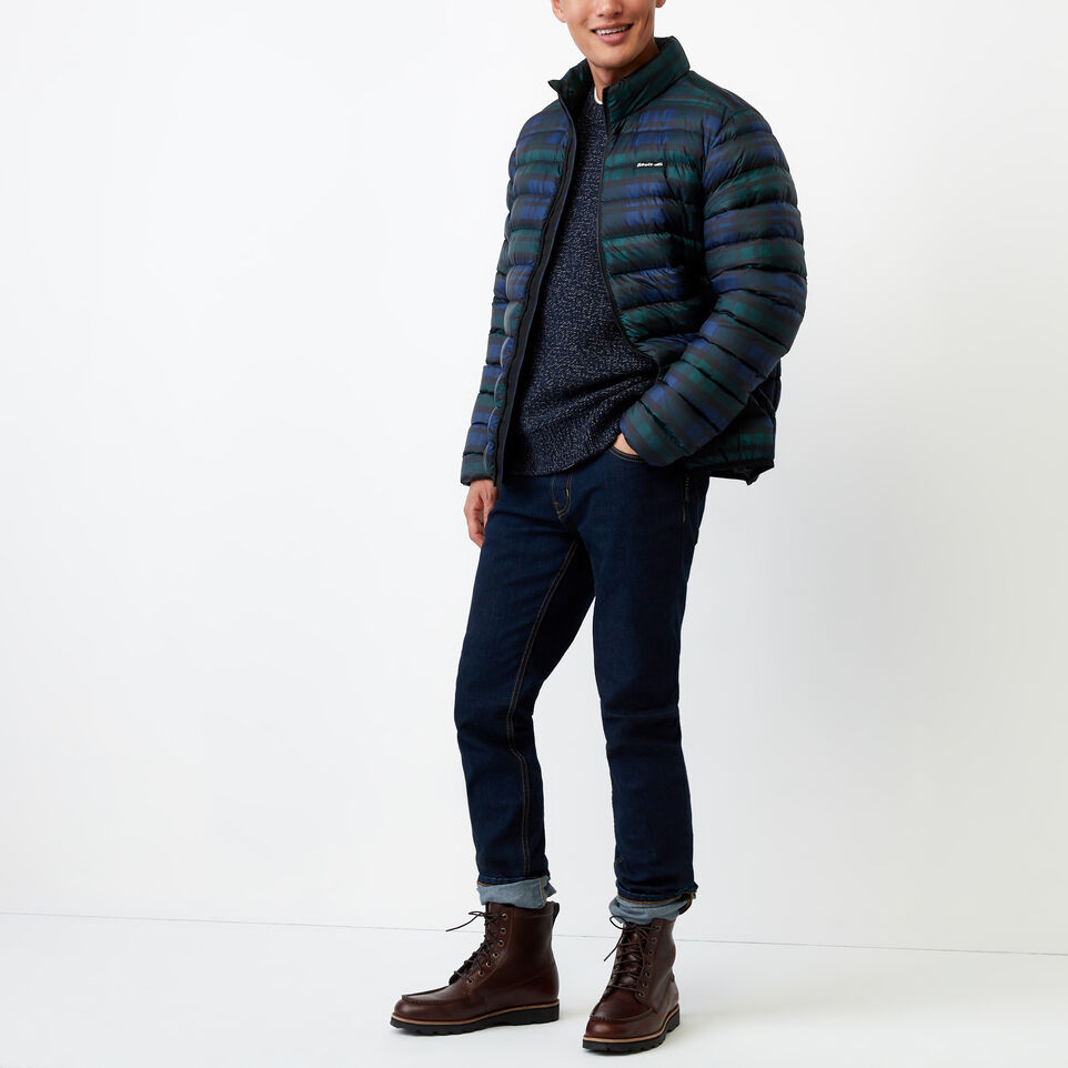 Roots-Winter Sale Men-Snowy Fox Crew Sweater-Navy Fox-B