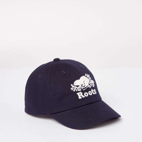 Roots-Kids Toddler Girls-Toddler Cooper Baseball Cap-Navy Blazer-A