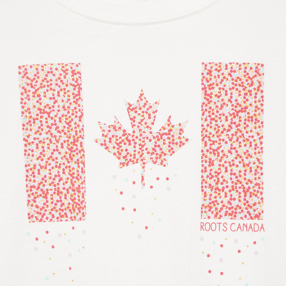 Roots-Kids Our Favourite New Arrivals-Toddler Confetti Canada T-shirt-Ivory-D