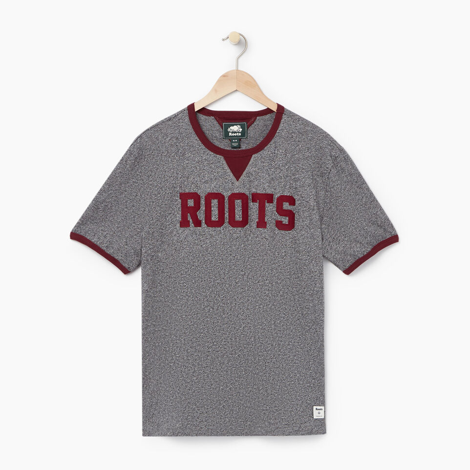 Roots-undefined-Mens Varsity Roots Ringer T-shirt-undefined-A