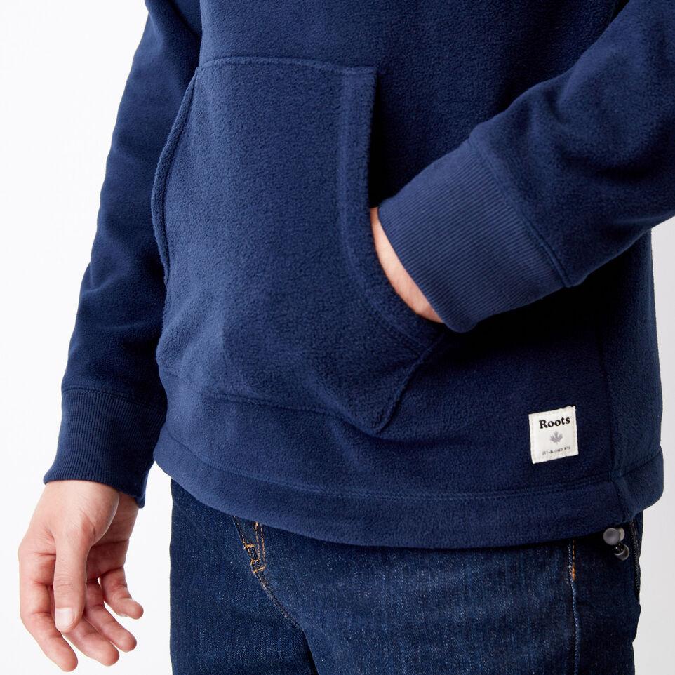 Roots-Winter Sale Men-Roots Vault Polar Hoody-Navy Blazer-E