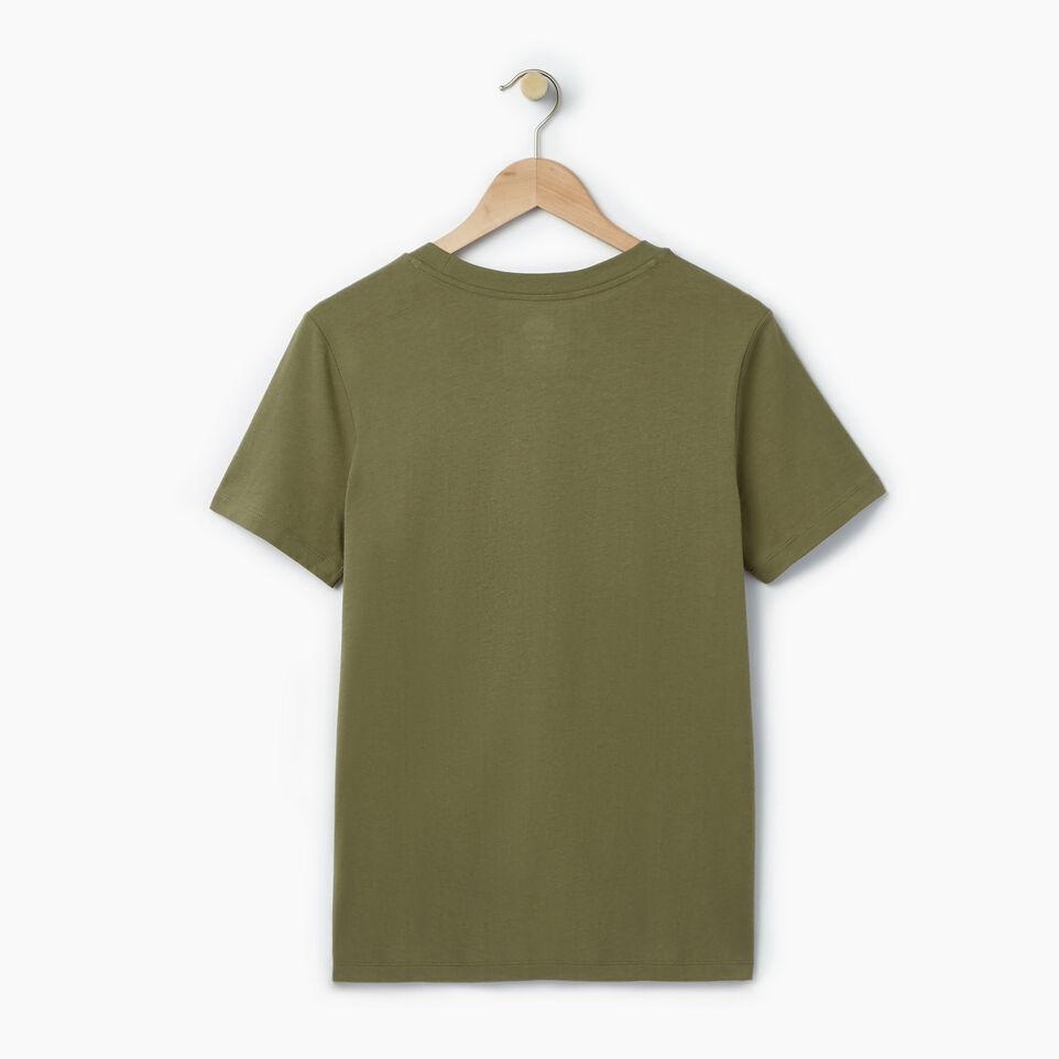 Roots-New For July Daily Offer-Womens Cooper Beaver T-shirt-Lichen-B