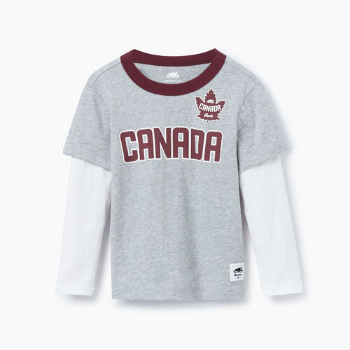 Roots-Kids Toddler Boys-Toddler Canada T-shirt-Grey Mix-A