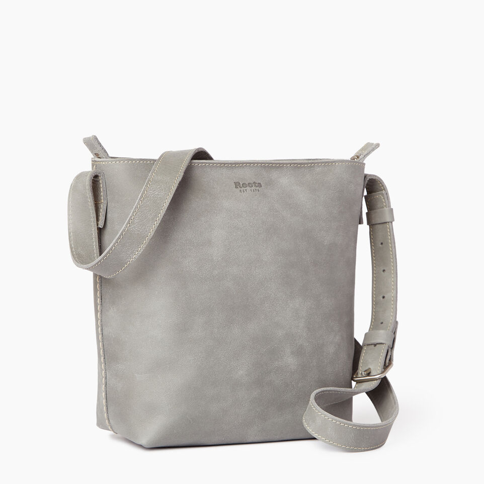 Roots-Leather Our Favourite New Arrivals-Rideau Crossbody-Quartz-C