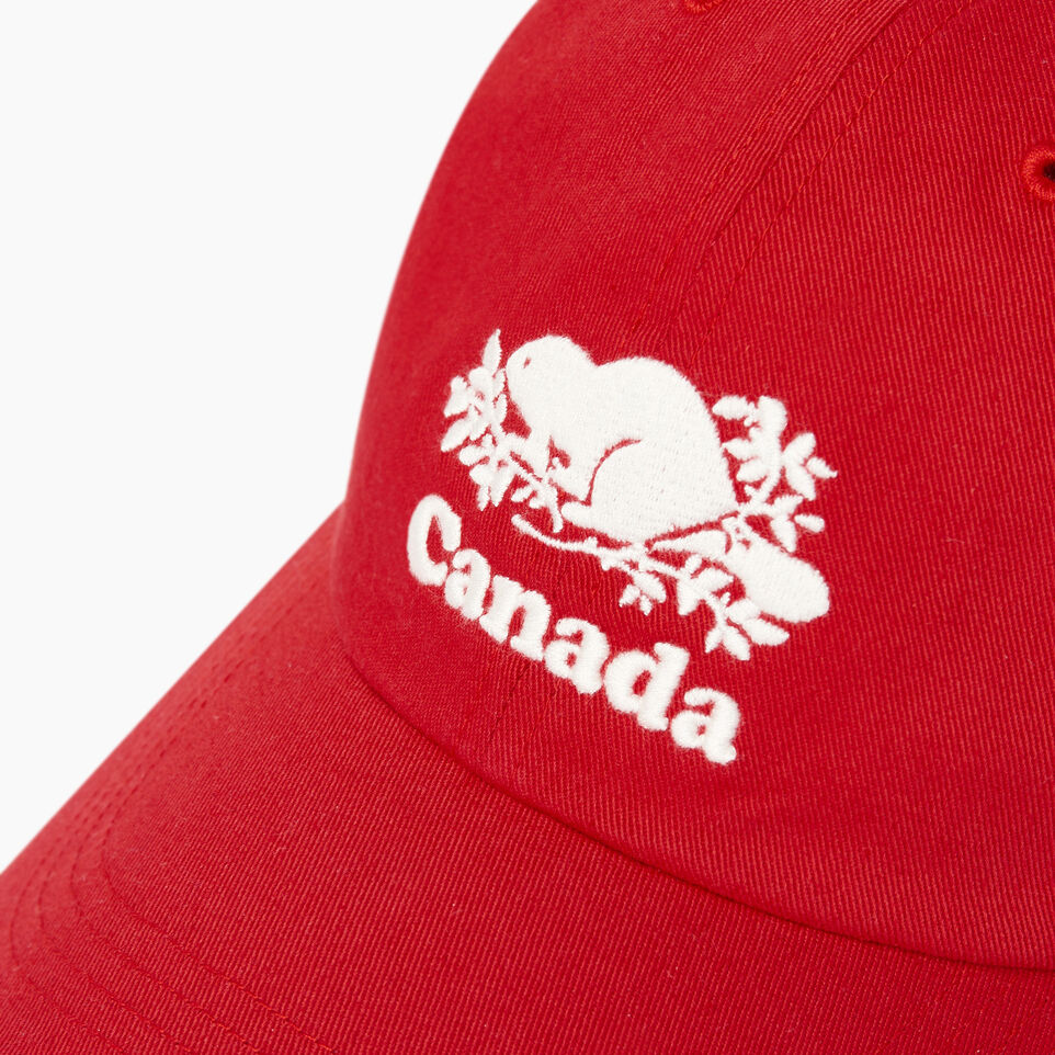 Roots-Men Our Favourite New Arrivals-Canada Baseball Cap-Red-D