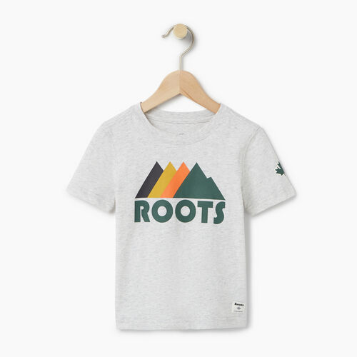 Roots-Kids Categories-Toddler Great Outdoors T-shirt-White Mix-A