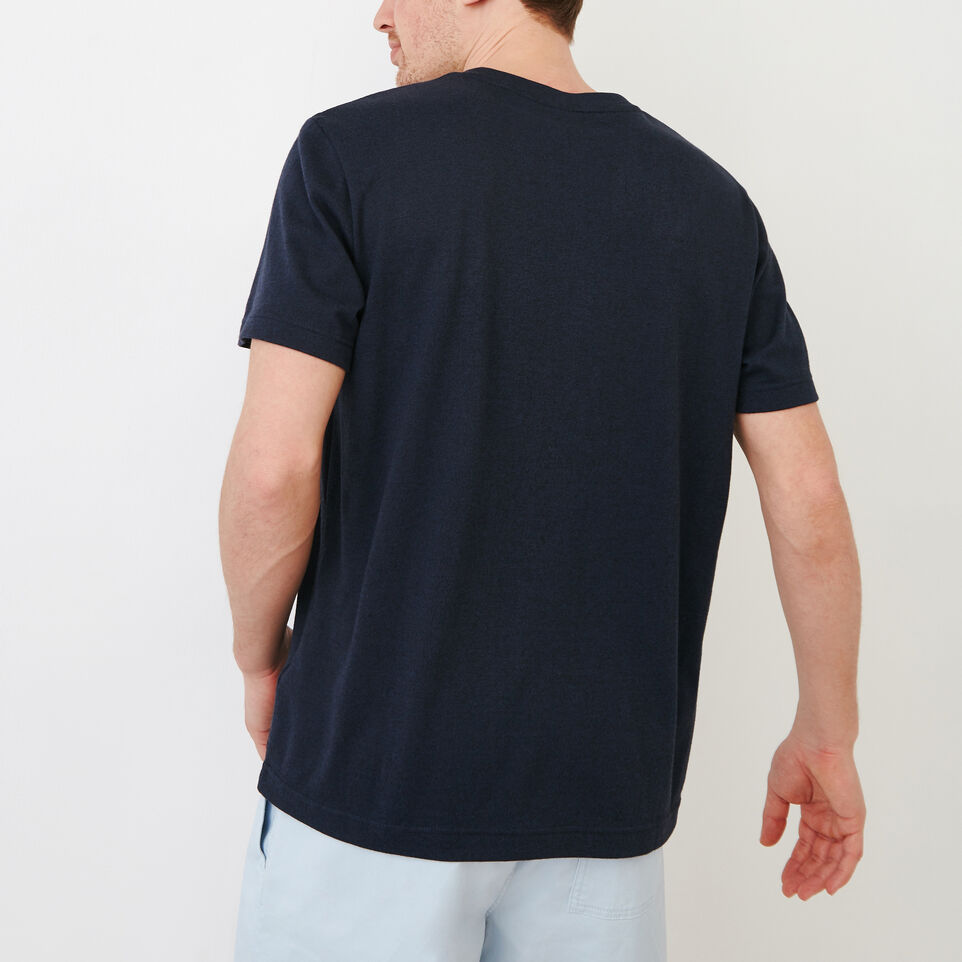 Roots-undefined-Perfect Pepper V-neck  T-shirt-undefined-D