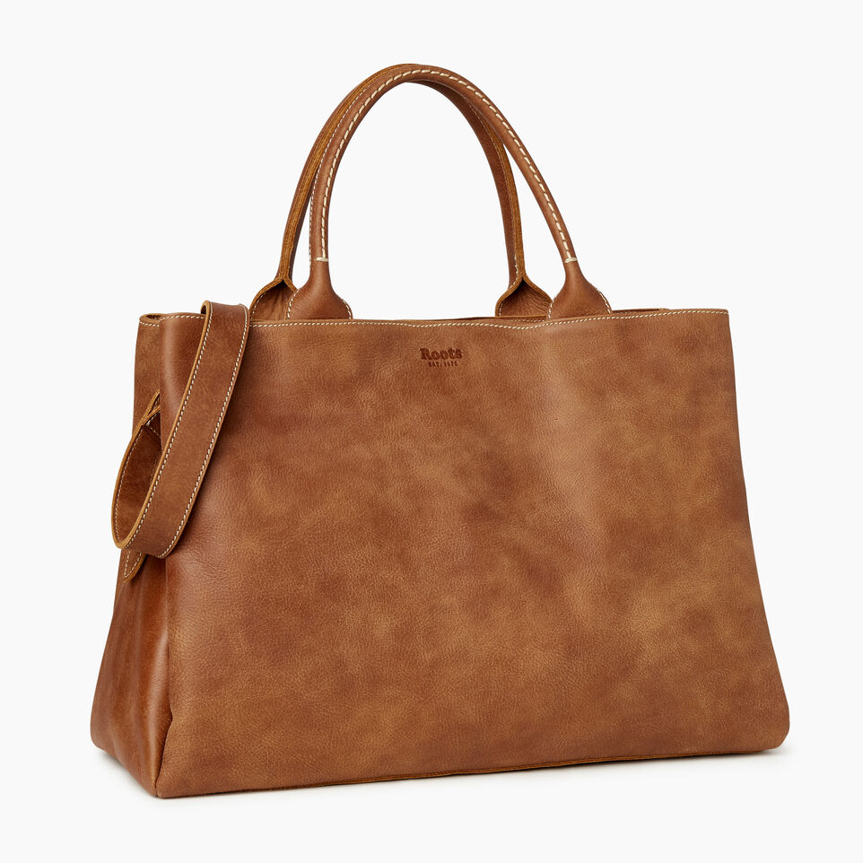 Roots-undefined-Large Mont Royal Bag-undefined-A