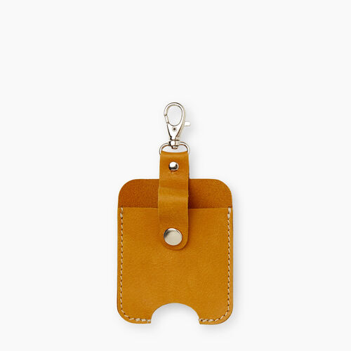 Roots-New For December Mask & Wellness Accessories-Hand Sanitizer Holder Tribe-Squash Yellow-A