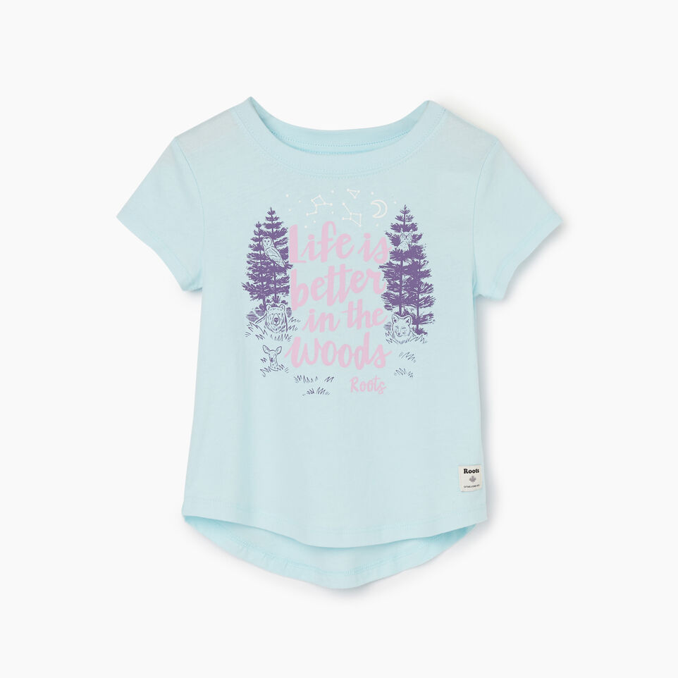 Roots-undefined-T-shirt Life Is Better pour tout-petits-undefined-A