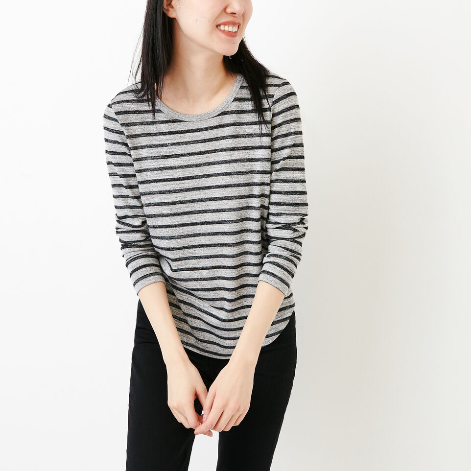 Roots-Women Our Favourite New Arrivals-Cayley Top-Salt & Pepper-A