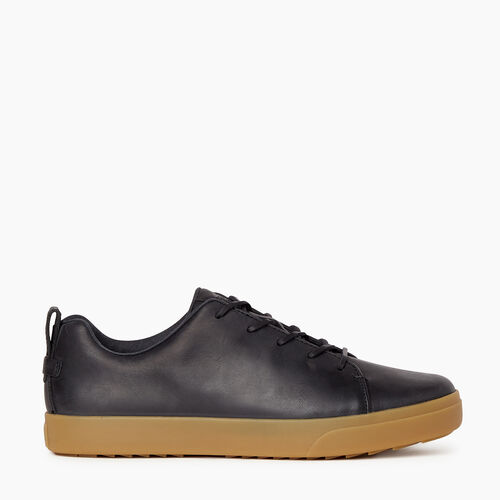 Roots-Footwear Men's Footwear-Mens Parkdale Sneaker-Black-A