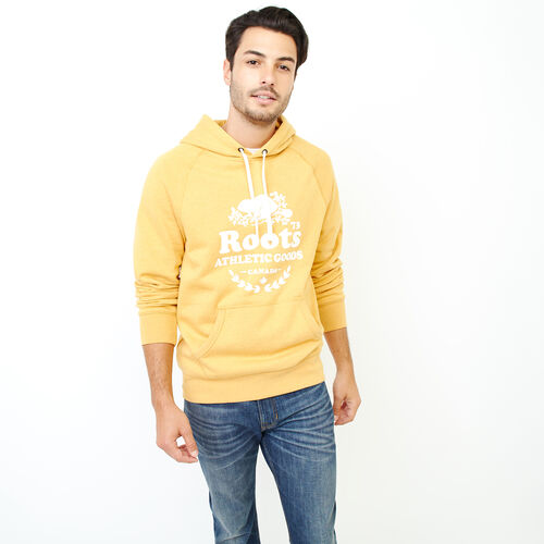 Roots-Men Our Favourite New Arrivals-Laurel Hoody-Yellow Shadow Mix-A