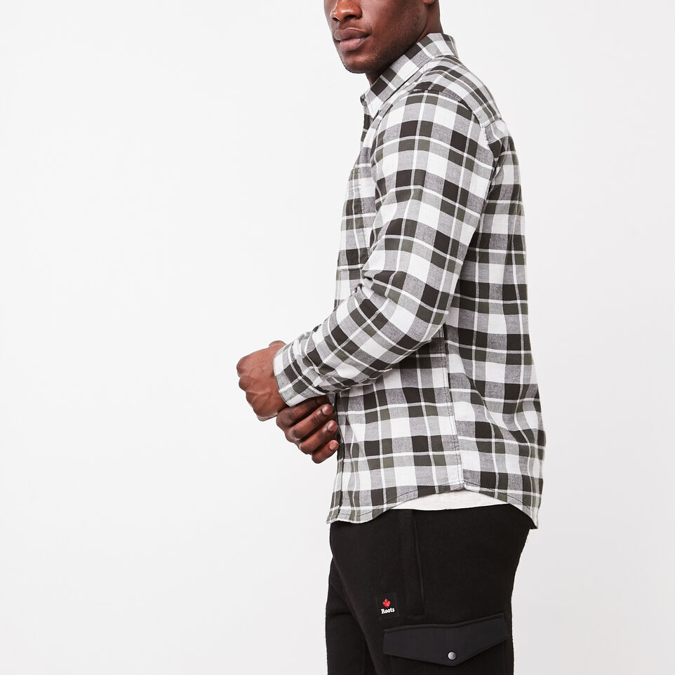 Roots-undefined-Yukon Flannel Shirt-undefined-B