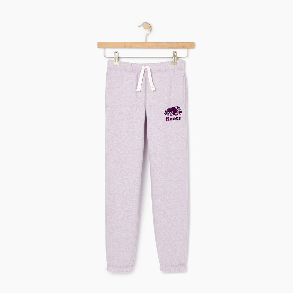 Roots-Kids Our Favourite New Arrivals-Girls Original Roots Sweatpant-Lupine Mix-A
